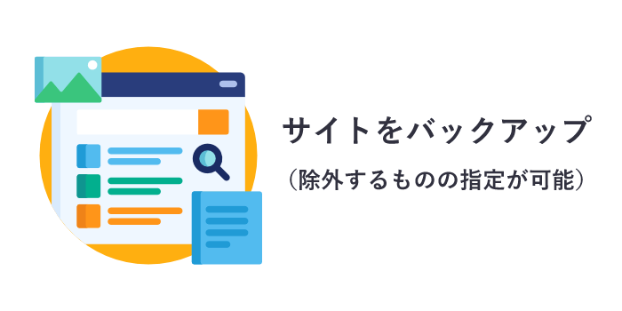 All-in-One WP Migrationを使ったバックアップ
